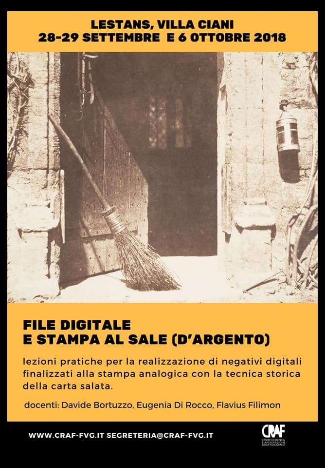 FILE DIGITALE E STAMPA AL SALE (D'ARGENTO)
