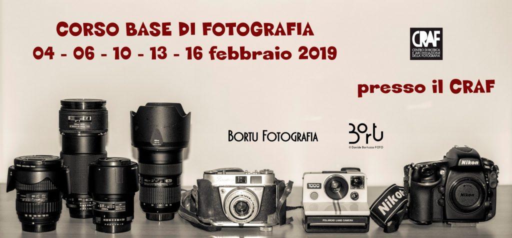 CORSO BASE DI FOTOGRAFIA - 4 - 16 feb 2019