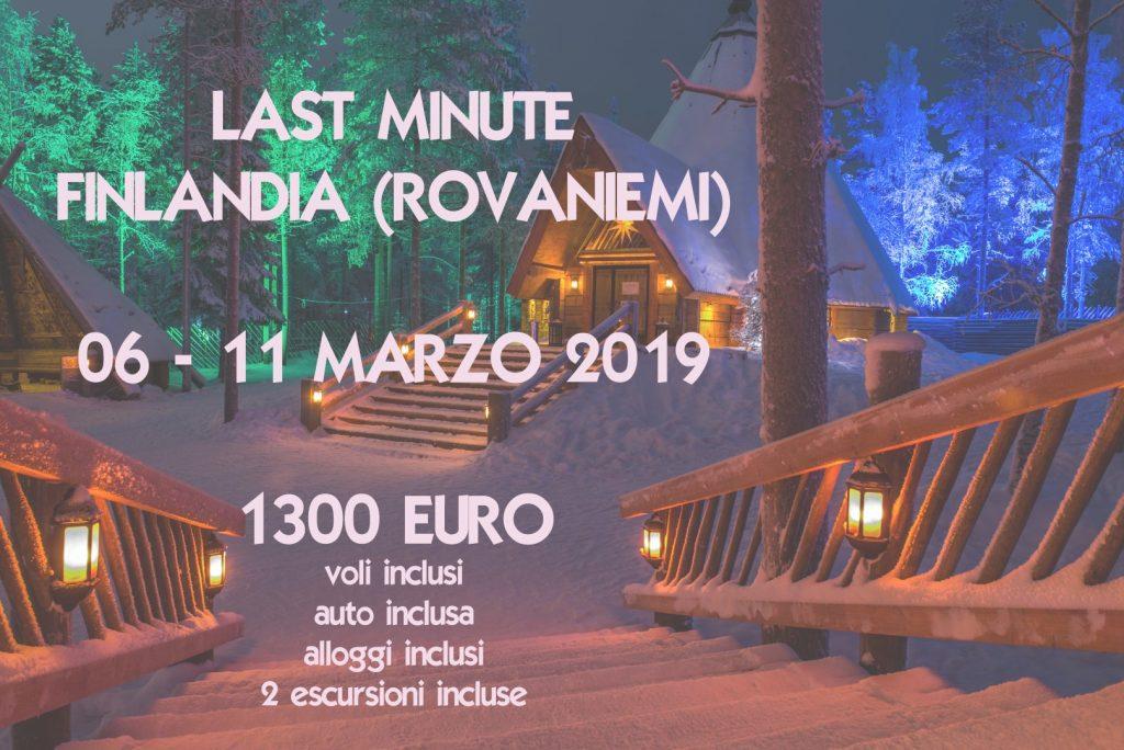 Viaggio in Finlandia (Rovaniemi) 06-11 marzo 2019