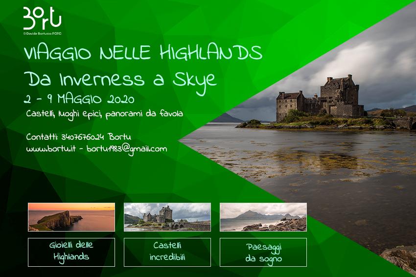 Viaggio nelle Highlands Scozzesi - 2 - 9 MAGGIO 2020