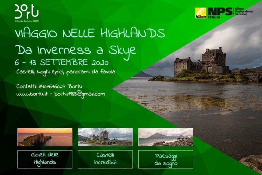 Viaggio nelle Highlands Scozzesi 6 - 13 SETTEMBRE 2020