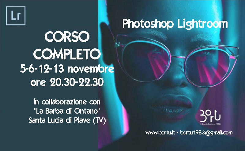 CORSO DI ADOBE LIGHTROOM