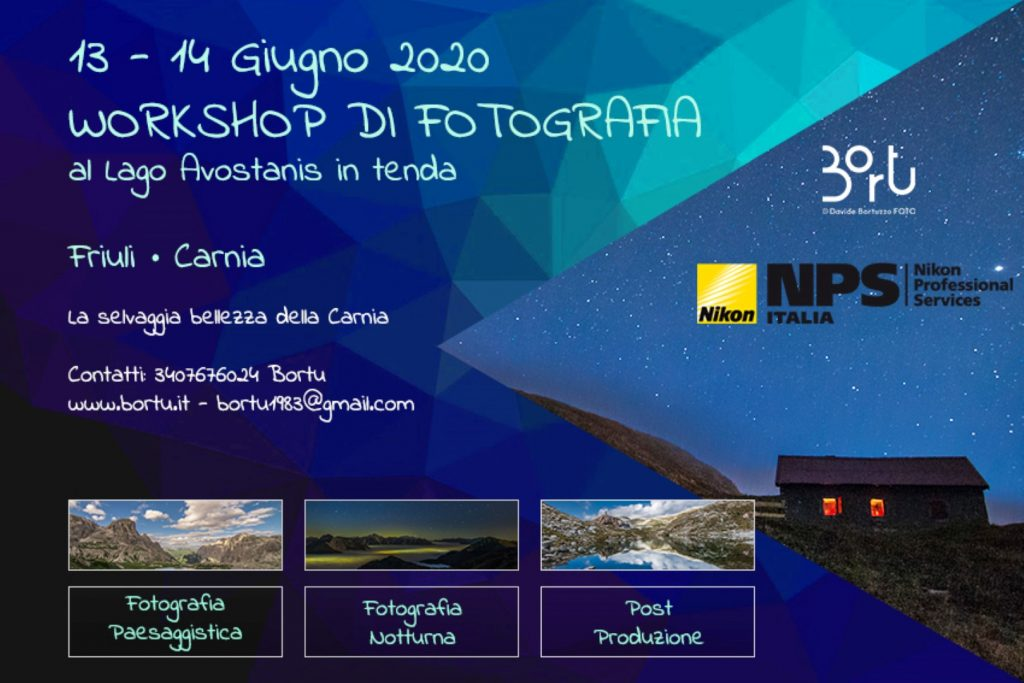 Weekend con WORKSHOP DI FOTOGRAFIA PAESAGGISTICA AL LAGO AVOSTANIS