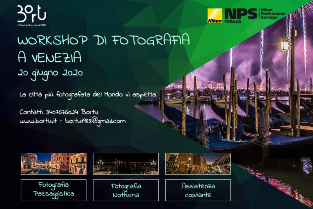 VENEZIA DI NOTTE - Foto-Tour della città più bella del Mondo