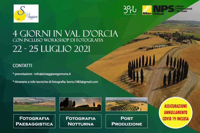 22-25 LUGLIO VAL D'ORCIA