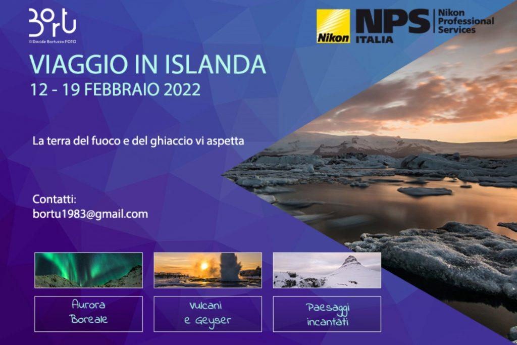 VIAGGIO IN ISLANDA 12-19 FEB 2022