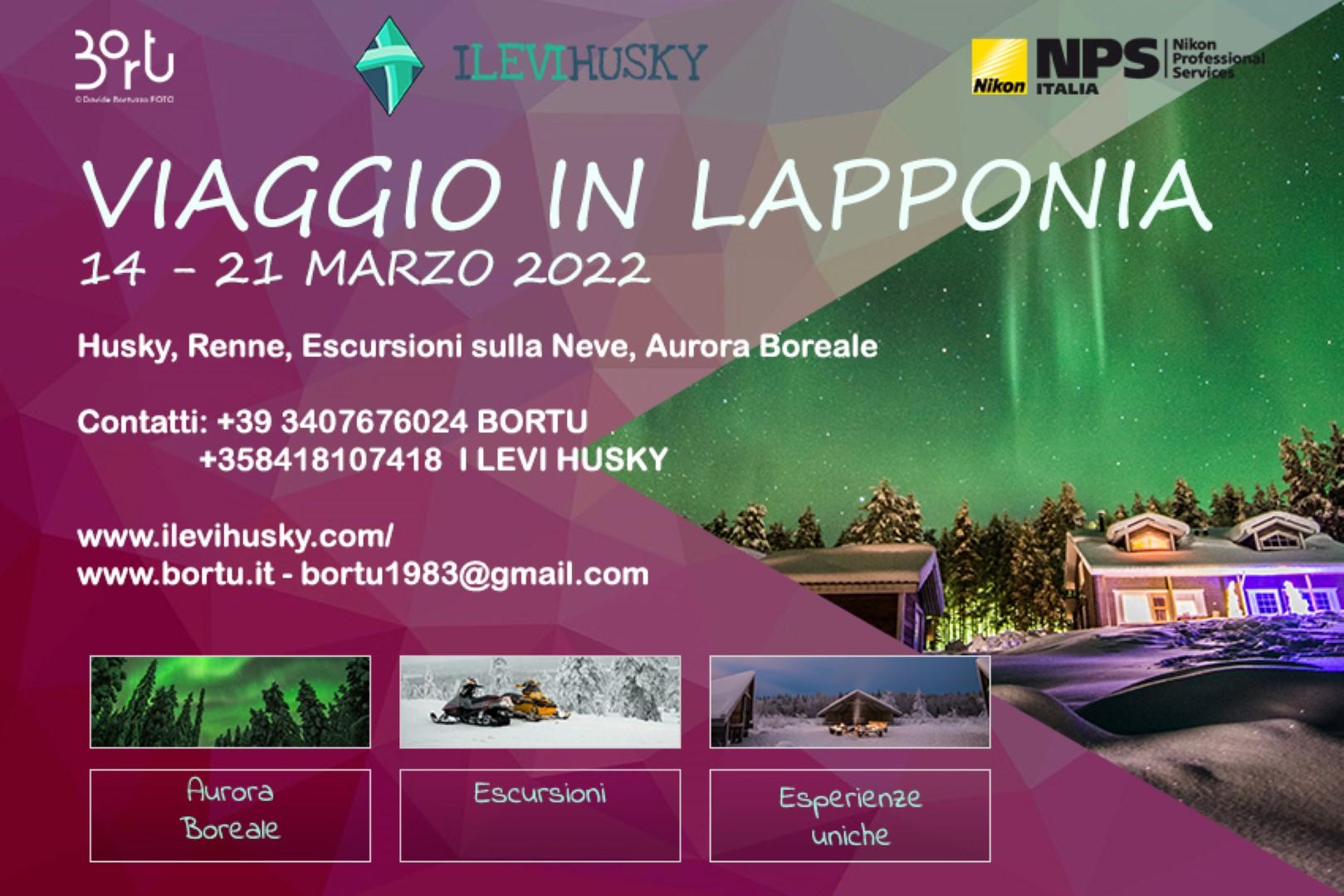 Viaggio Lapponia 2022